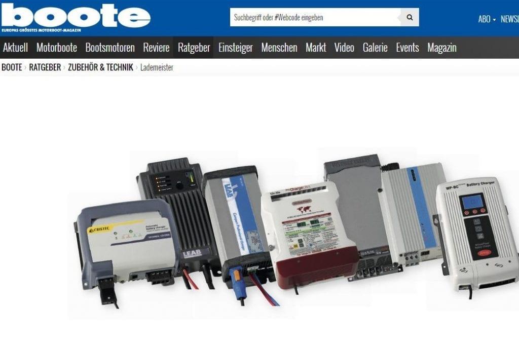 2016-09 - Boote - Batterieladegräte