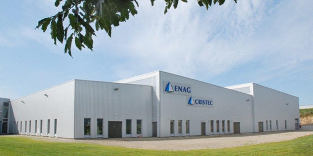 Fabrik und Büros CRISTEC Quimper