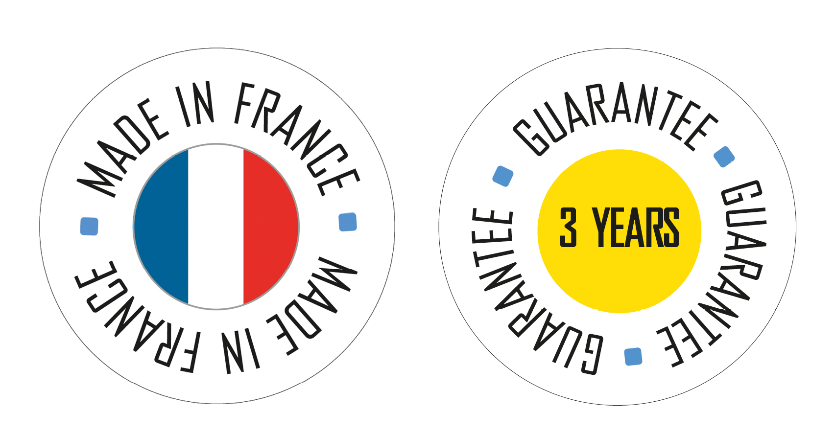 Made in France - Garantie 3 Jahre
