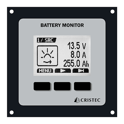 JBNUM-II battery monitor