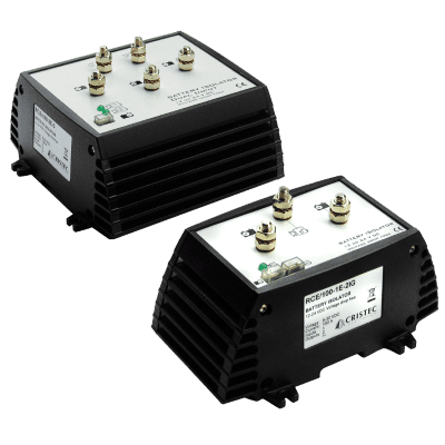 RCE electronic battery isolators