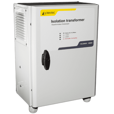 Isolation transformers IT - manual or automatic