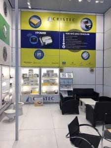 CRISTEC PRESENT ON ITS DISTRIBUTOR STAND AT EURASIA 2018 ISTANBUL TURKEY