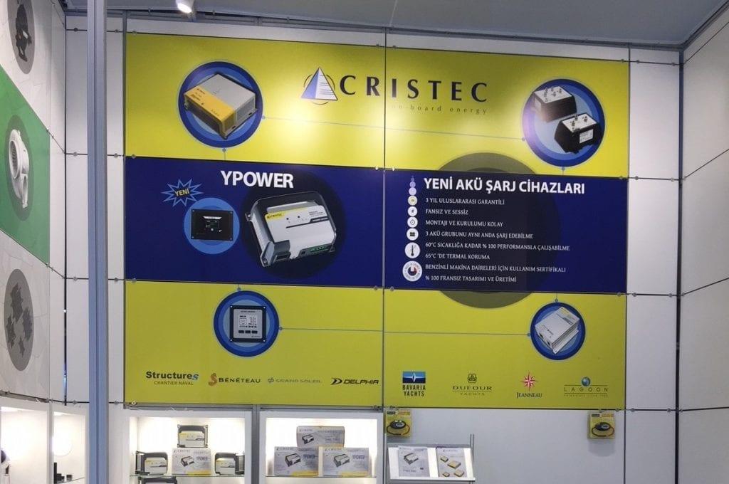 CRISTEC presente en el stand de su distribuidor en Turquía