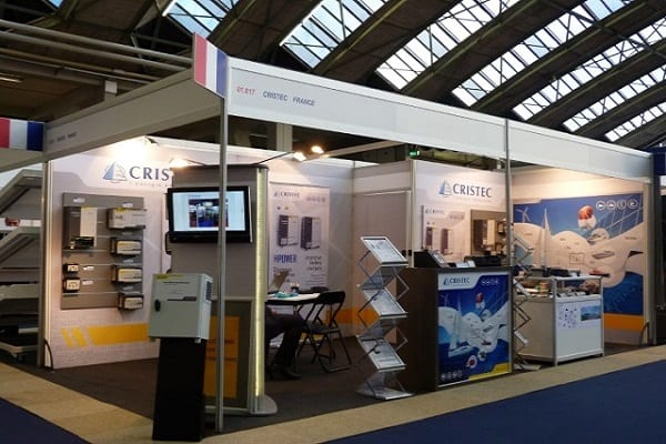 METS 2016 Amsterdam - Netherlands - CRISTEC booth - French pavillion