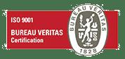logo certificat Bureau Veritas ISO9001 CRISTEC